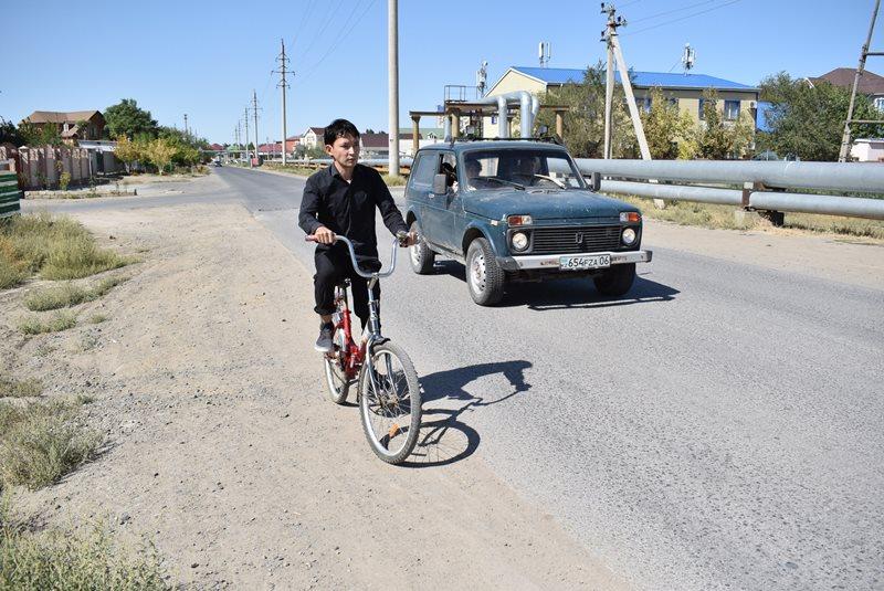 ekobudushhee stanet li atyrau velosipednym gorodom