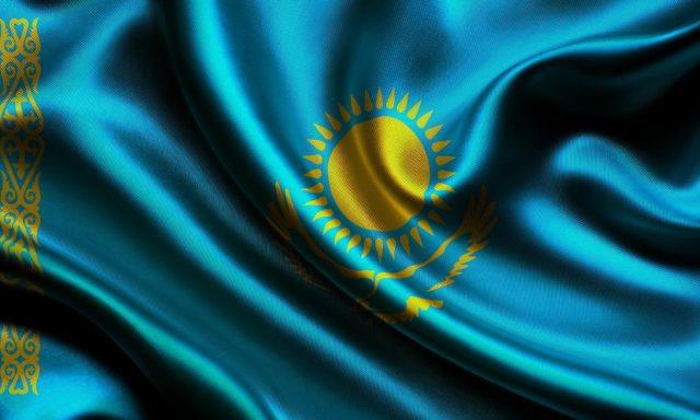 flag kazahstana