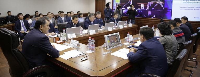 В Атырауской области обсудили вопросы развития молодежи