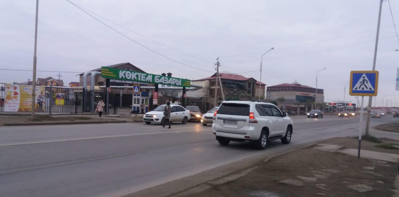 25 пешеходов сбили на дорогах Атырау с начала года